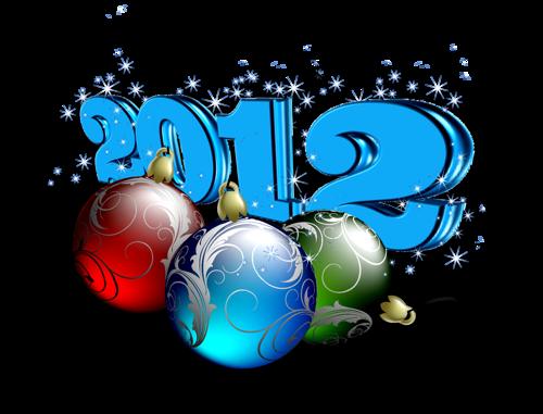 """"""" C'est haut en couleurs, ... """" Mes (l)loulouttes & (l)loulous que je vous souhaite un bon week-end et surtout une année 2012 remplie de VRAI bonheur """" ... et santé !"""