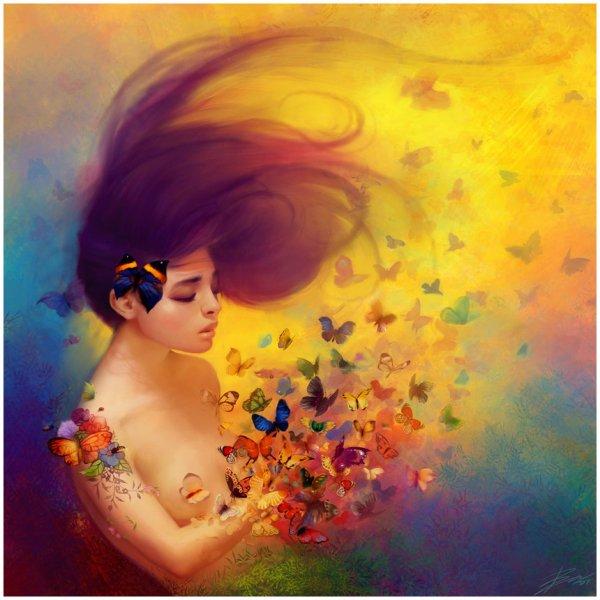 """ Papillons "" ..."