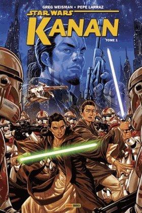 Star Wars - Kanan - Tome 1 : Le Dernier Padawan - Greg Weisman & Pepe Larraz