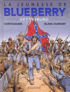 La Jeunesse de Blueberry : Gettysburg - Corteggiani et Blanc-Dumont
