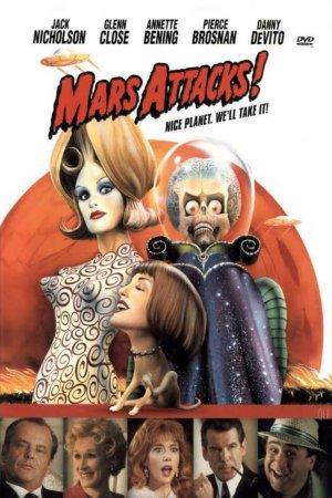 Mars Attacks ! - Tim Burton