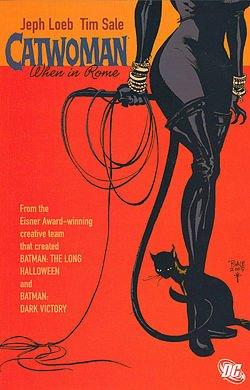 Catwoman à Rome... - Jeph Loeb & Tim Sale