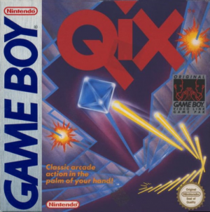 Qix - Taito / Styx - Windmill Software