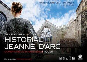 Historial Jeanne d'Arc de Rouen