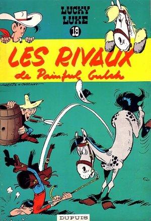 Lucky Luke : Les Rivaux de Painful Gulch - Morris & Goscinny