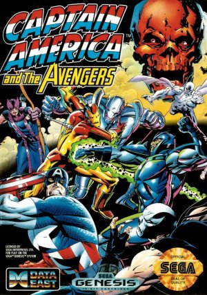 Captain America and the Avengers - Data East