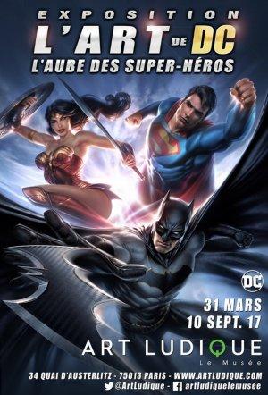 L'Art de DC : L'Aube des Super-héros - Musée d'Art Ludique