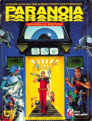 Paranoia - West End Games