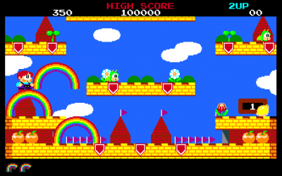 Rainbow Islands - Taito