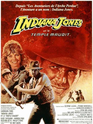 Indiana Jones et le Temple maudit - Steven Spielberg
