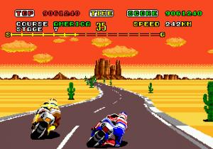 Super Hang-On - Sega