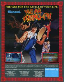 Yie Ar Kung-Fu - Konami