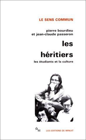 Les Héritiers - Bourdieu et Passeron