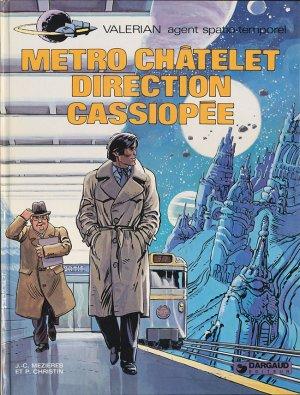 Valérian - Tome 9 :  Métro Châtelet - Direction Cassiopée - Christin & Mézières