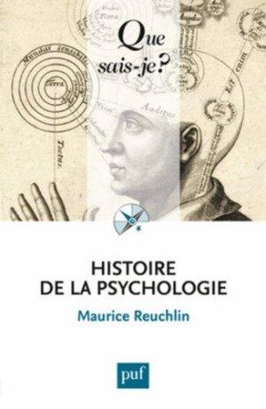 Histoire de la Psychologie - Maurice Reuchlin