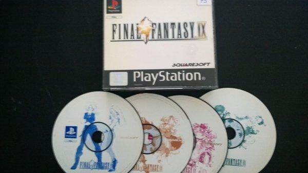 Mes Final Fantasy VIII et IX.
