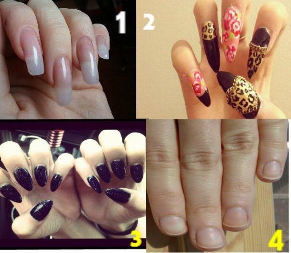 Les filles ont est plutot : 1 , 2 , 3 , Ou 4 ? :)