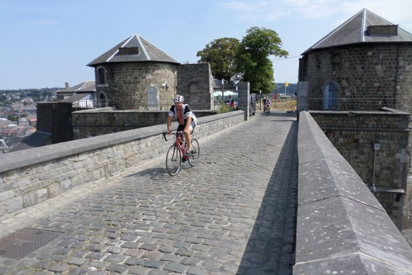 En route vers la citadelle de Namur.