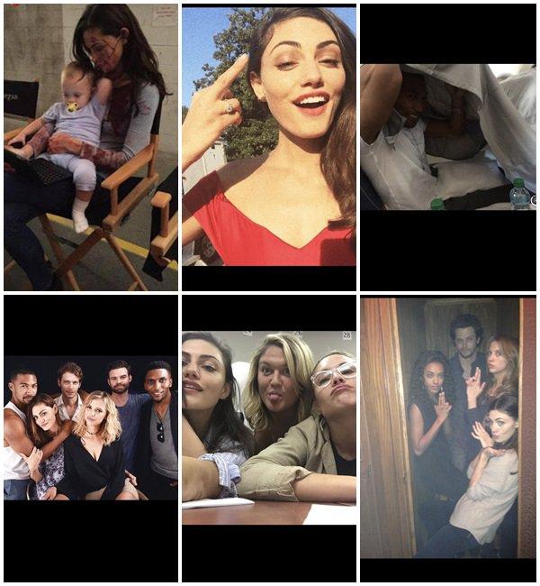 Du 30 Juillet au 7 Août 2018, Phoebe a posté sur son Instagram