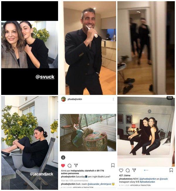 Du 7 au 18 Septembre 2018, Phoebe a posté sur son Instagram