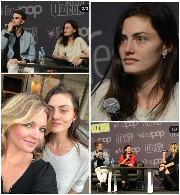 22 Septembre 2018 - Phoebe était à la convention Oz Comic Con