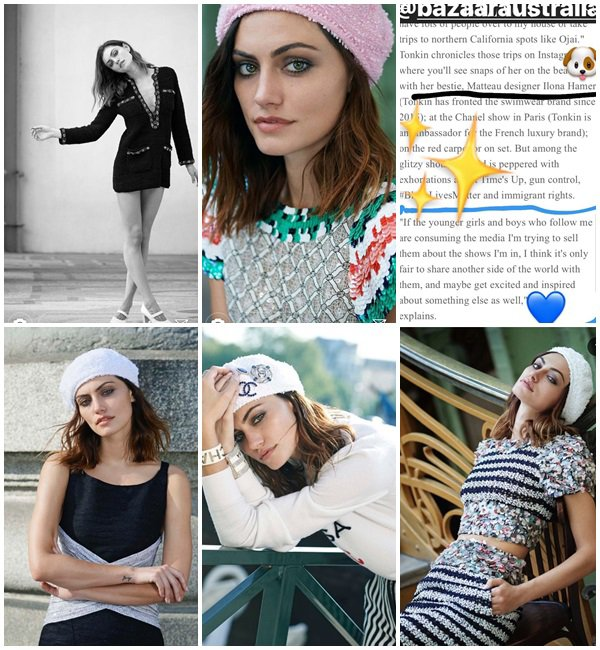 Photoshoot/Magazine 2018 - Phoebe fait la couverture pour le magazine Haper Bazaar Australia