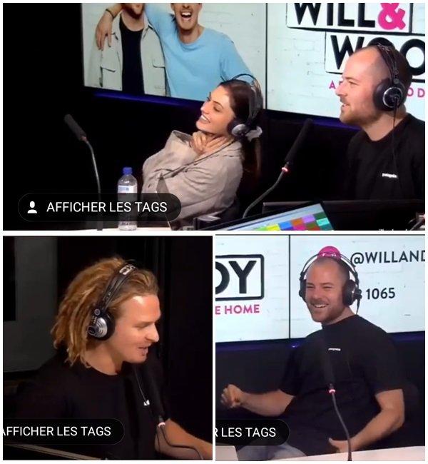 """3 Décembre 2018 - Phoebe était à l'émission radio """" will and woody"""" our promouvoir la série Bloom"""