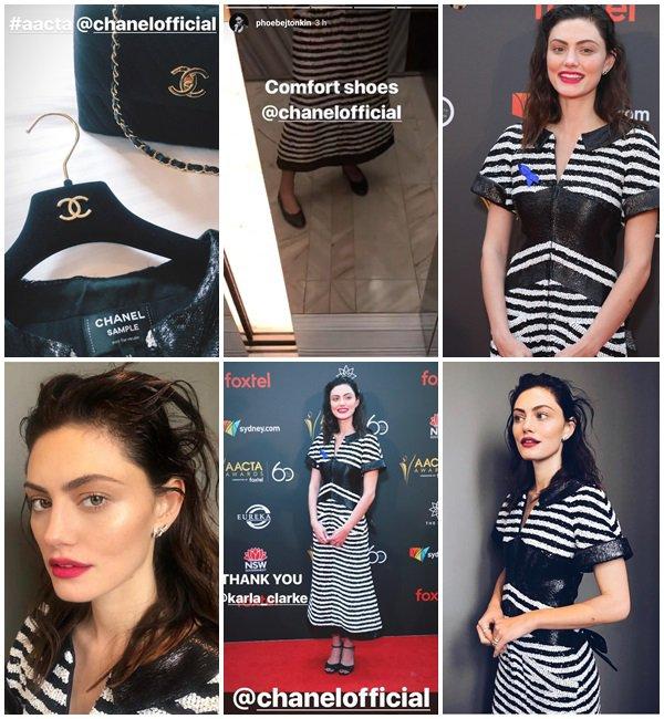 5 Décembre 2018 - Phoebe Tonkin était au 2018 AACTA Awards Presented by Foxtel à Sydney, Australie