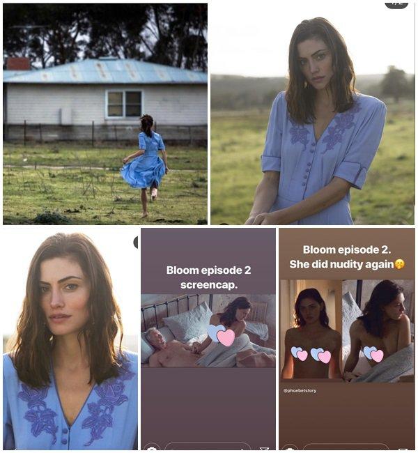 Du 22 Décembre 2018 au 2 Janvier 2019, Phoebe a posté sur son Instagram
