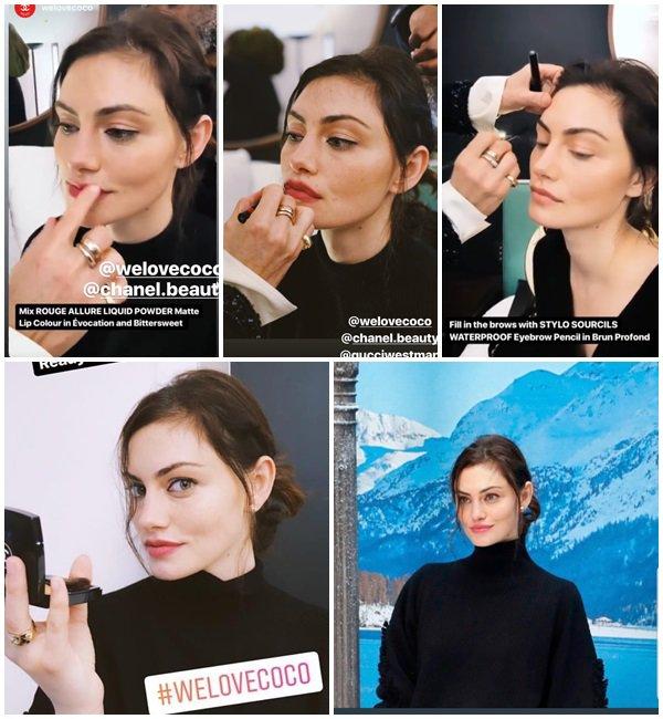 5 Mars 2019 - Phoebe était au Chanel show PFW Womenswear FW 20192020 à Paris