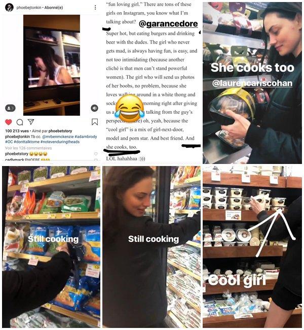 Du 20 Mars au 3 Avril 2019, Phoebe a posté sur son Instagram