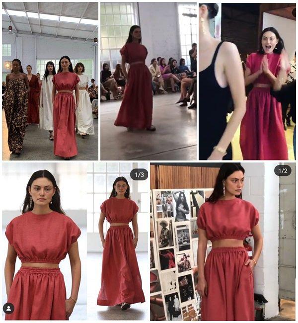 13 Mai 2019 - Phoebe participe au défilé pour la marque Matteau pendant la Fashion Week en Australie