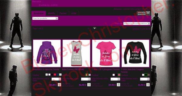 Boutique de Chris et Justin Bieber ! PARTENAIRE ! :Jeu concours Justin Bieber