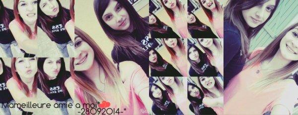 -Ma meilleure amie,ma raison de vivre. Tu me manques tellement.♥