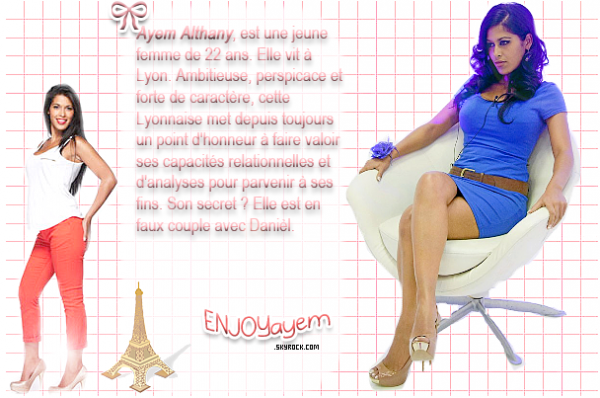 Ayem une candidate si importante ♥