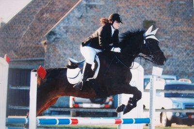 Parce que l'amour entre un cheval & sont cavalier ne s'explique pas ..