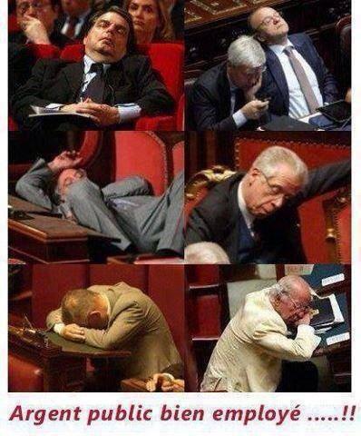 Le pouvoir législatif..!