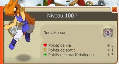 Passage level 100 !