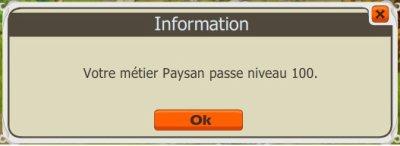 C'est en fauchant qu'on devient Paysan !!