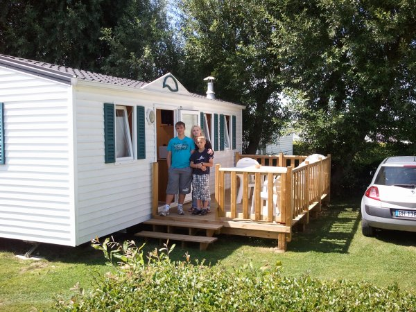 Camping De La Vielle Eglise (80) Cayeux Sur Mer 2012