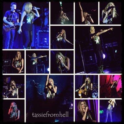 Avril en Argentine !