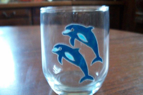 verre dauphins