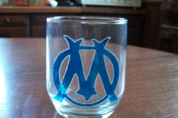 verre logo OM