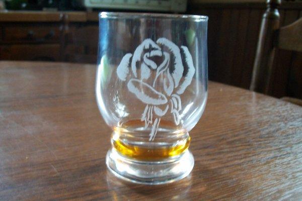 verre rose