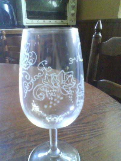 verre grappe de raisin1
