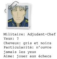 Fullmetal Alchemist. Document tirer des dossiers de Central