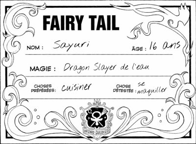 Cartes de Fairy Tail