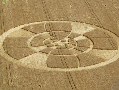 Un nouveau Crop Circle en Suisse