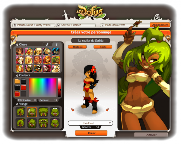 #2 Création et début de mon retour sur Dofus !