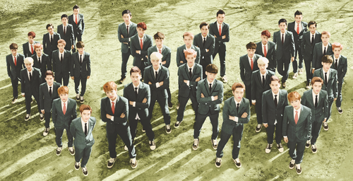 EXO -  Ladies and Gentleman! ttarararara ttarararara ♪